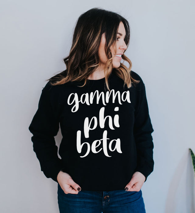Gamma Phi Beta Superscript Crewneck Sweatshirt