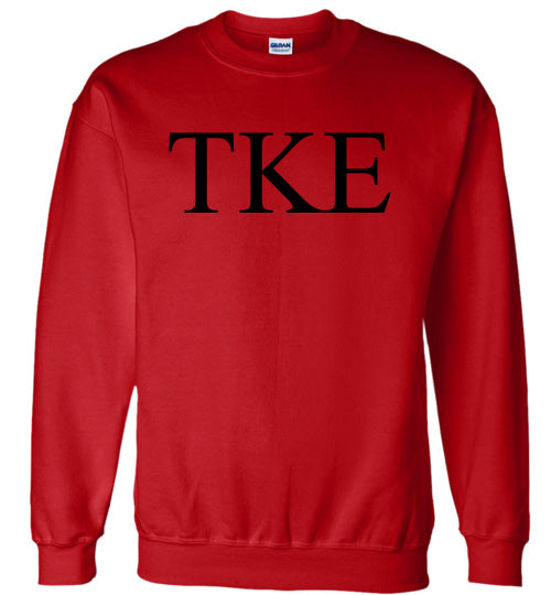 Tau Kappa Epsilon World Famous Lettered Crewneck Sweatshirt