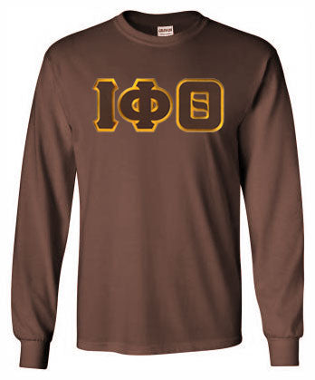 Iota Phi Theta Long Sleeve Greek Lettered Tee