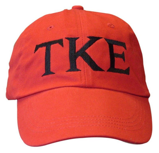Tau Kappa Epsilon Greek Letter Embroidered Hat