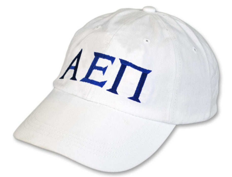 Alpha Epsilon Pi Greek Letter Embroidered Hat