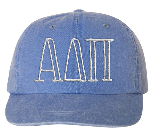 Alpha Delta Pi Sorority Greek Carson Embroidered Hat