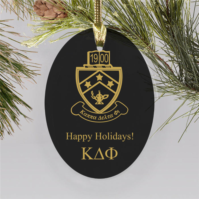 Kappa Delta Phi Color Crest Ornament
