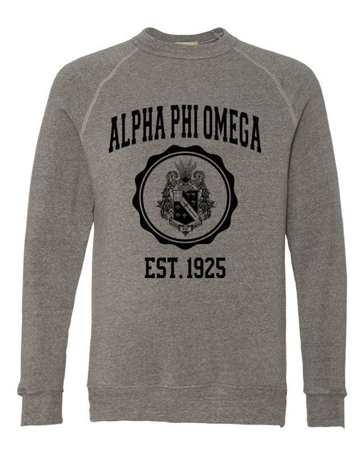 Alpha Phi Omega Alternative Eco Fleece Champ Crewneck Sweatshirt