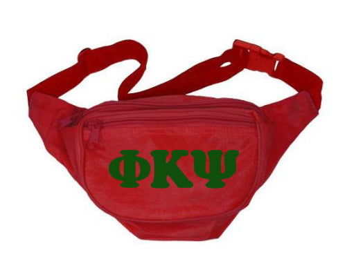 Phi Kappa Psi Letters Layered Fanny Pack