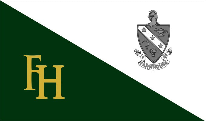 Farmhouse Fraternity Flag Sticker