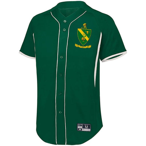 Alpha Gamma Rho 7 Full Button Baseball Jersey