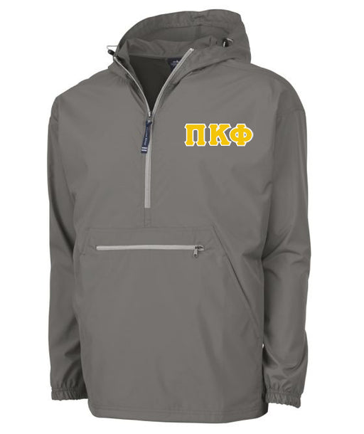 Pi Kappa Phi Embroidered Pack and Go Pullover