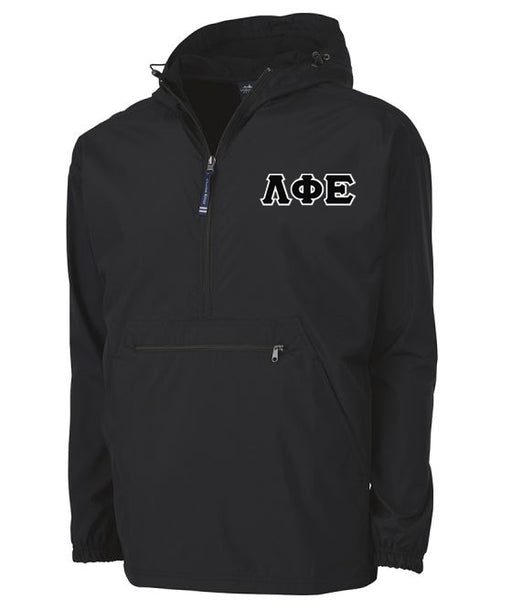 Lambda Phi Epsilon Embroidered Pack and Go Pullover