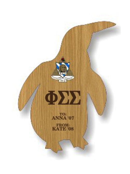 Phi Sigma Sigma Sorority Plaque