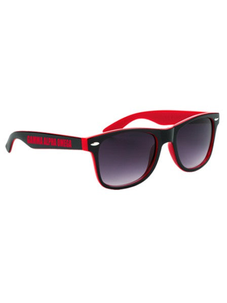 Gamma Alpha Omega Two-Tone Malibu Sunglasses