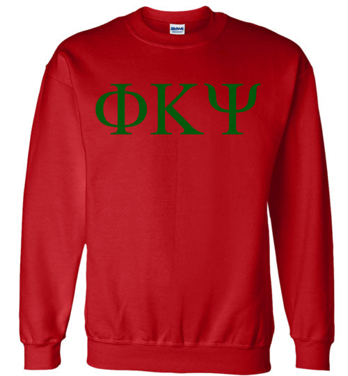 Phi Kappa Psi World Famous Lettered Crewneck Sweatshirt