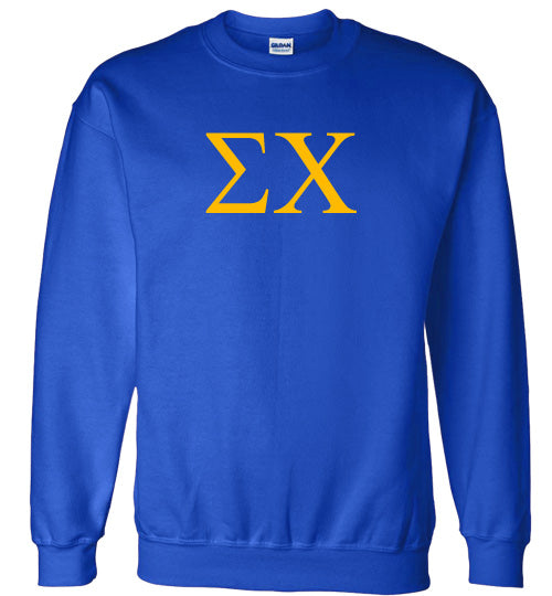 Sigma Chi World Famous Lettered Crewneck Sweatshirt