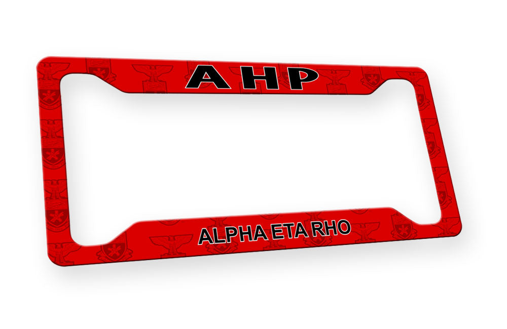 Alpha Eta Rho New License Plate Frame
