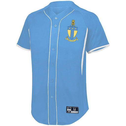 Alpha Tau Omega 7 Full Button Baseball Jersey