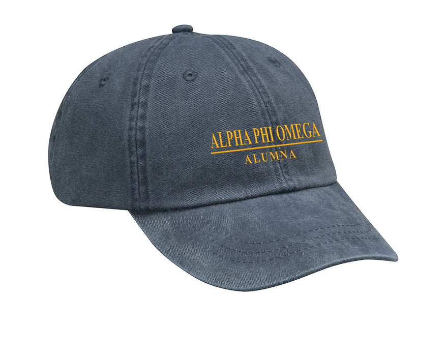 Alpha Phi Omega Custom Embroidered Hat