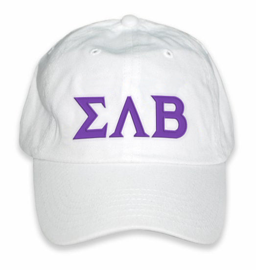 Sigma Lambda Beta Greek Letter Embroidered Hat