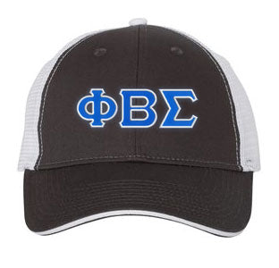 Phi Beta Sigma Greek Trucker Cap