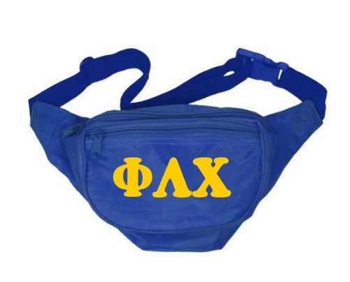 Phi Lambda Chi Letters Layered Fanny Pack