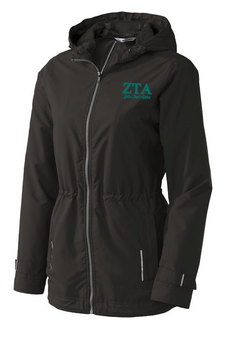 Zeta Tau Alpha Embroidered Ladies Northwest Slicker