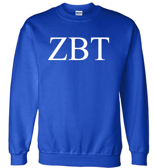 Zeta Beta Tau World Famous Lettered Crewneck Sweatshirt