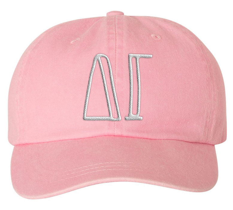 Delta Gamma Sorority Greek Carson Embroidered Hat