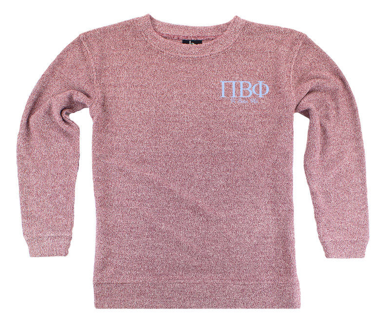 Pi Beta Phi Lettered Cozy Sweater