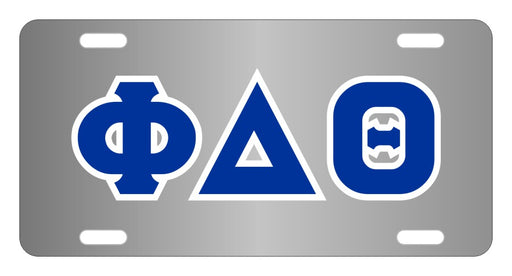 Phi Delta Theta Fraternity License Plate Cover