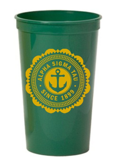 Alpha Sigma Tau Classic Oldstyle Giant Plastic Cup