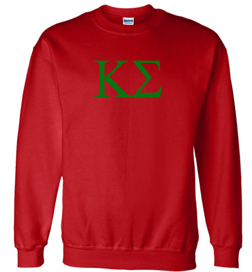 Kappa Sigma World Famous Lettered Crewneck Sweatshirt