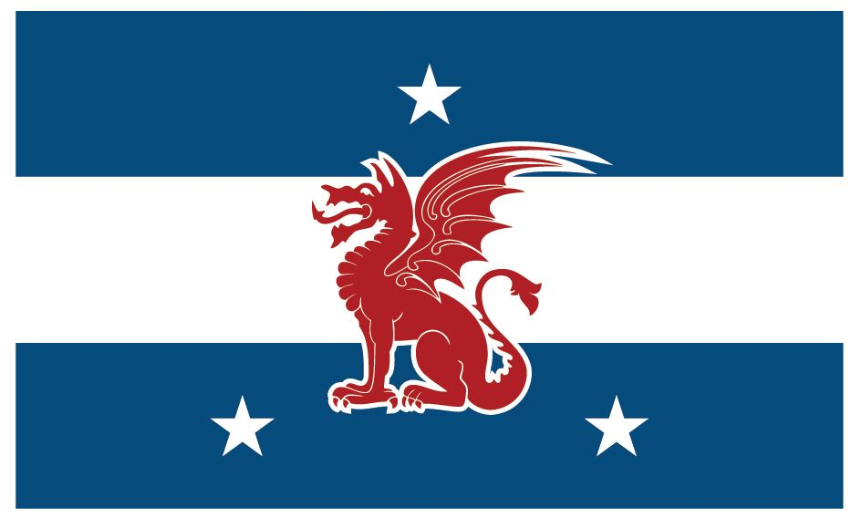 Beta Theta Pi Fraternity Flag Sticker