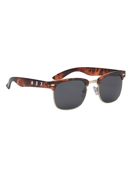 Phi Beta Chi Panama OZ Letter Sunglasses