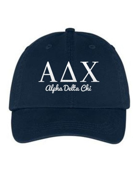 Alpha Delta Chi Collegiate Curves Hat