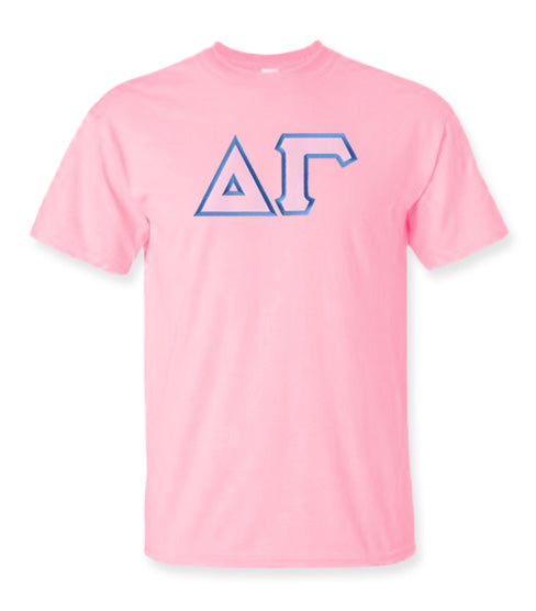 Delta Gamma Lettered T Shirt
