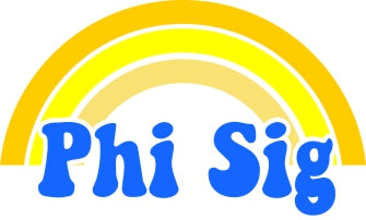 Phi Sigma Sigma End of The Rainbow Sorority Decal