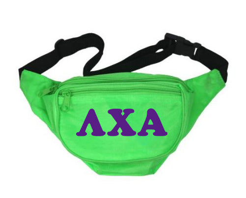 Lambda Chi Alpha Fanny Pack Letters Layered Fanny Pack