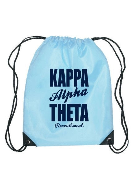 Kappa Alpha Theta Cursive Impact Sports Bag