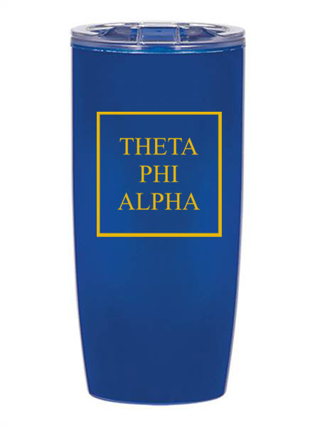 Theta Phi Alpha Box Stacked 19 oz Everest Tumbler
