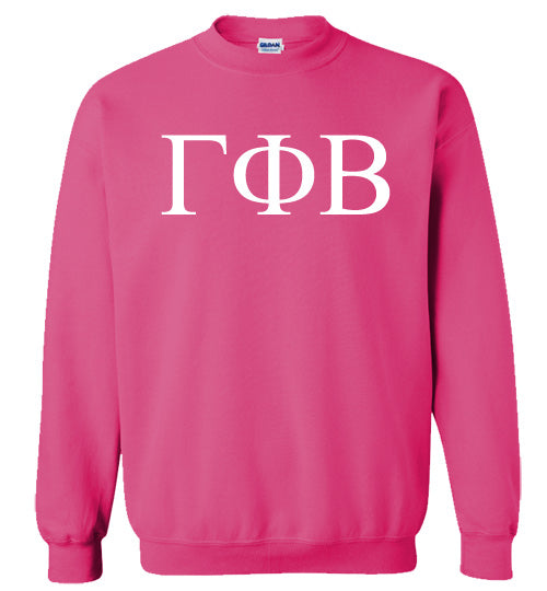 Gamma Phi Beta World Famous Lettered Crewneck Sweatshirt
