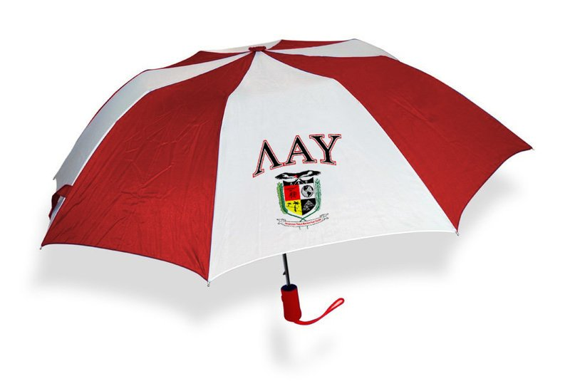 Lambda Alpha Upsilon Crest Umbrella