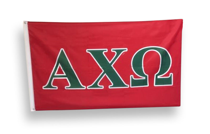 Alpha Chi Omega Big Flag