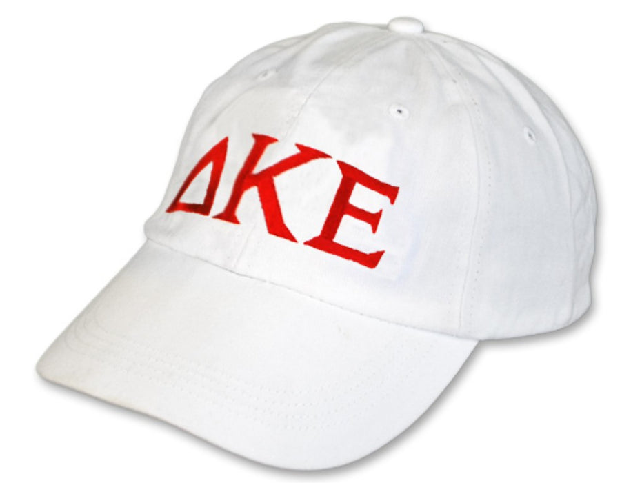 Delta Kappa Epsilon Greek Letter Embroidered Hat