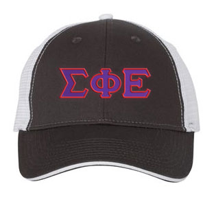 Sigma Phi Epsilon Greek Trucker Cap