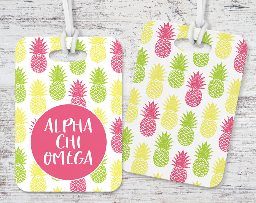 Default Pineapple Luggage Tag