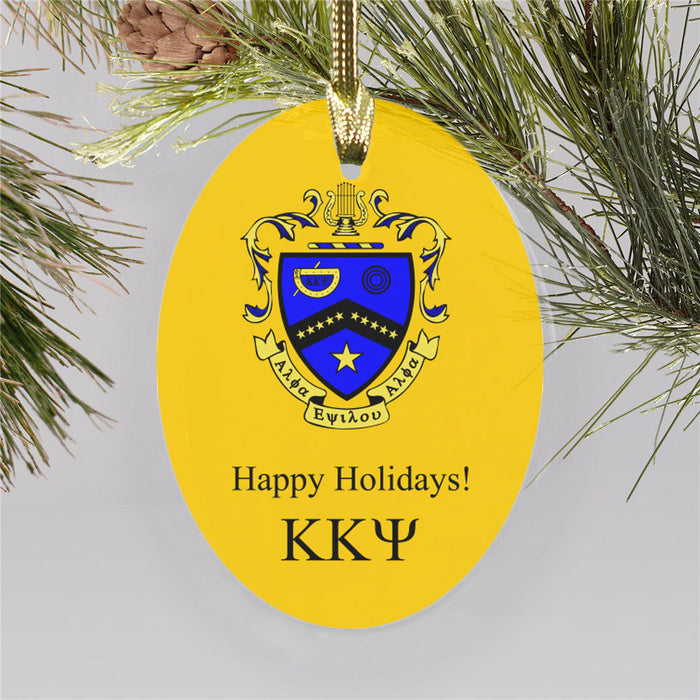 Kappa Kappa Psi Color Crest Ornament