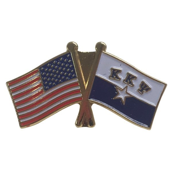 Kappa Kappa Psi USA / Fraternity Flag Pin
