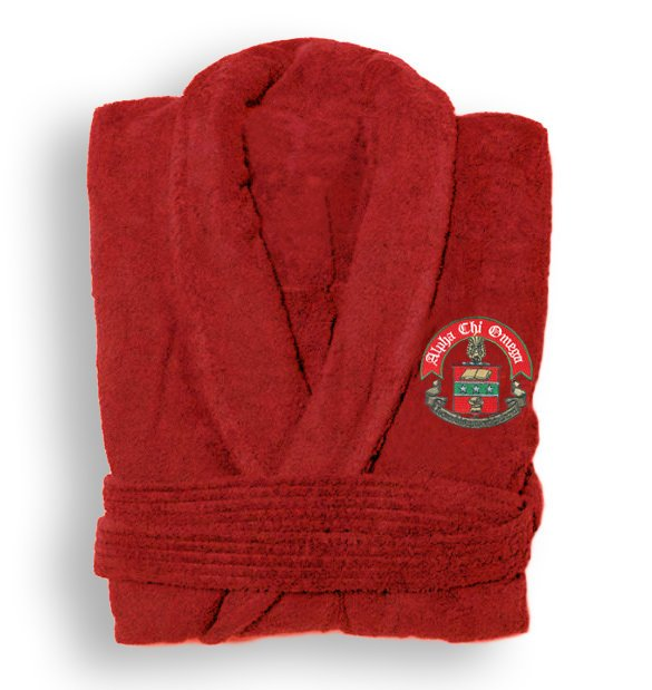 Alpha Chi Omega Bathrobe