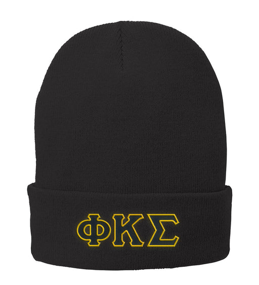 Phi Kappa Sigma Lettered Knit Cap