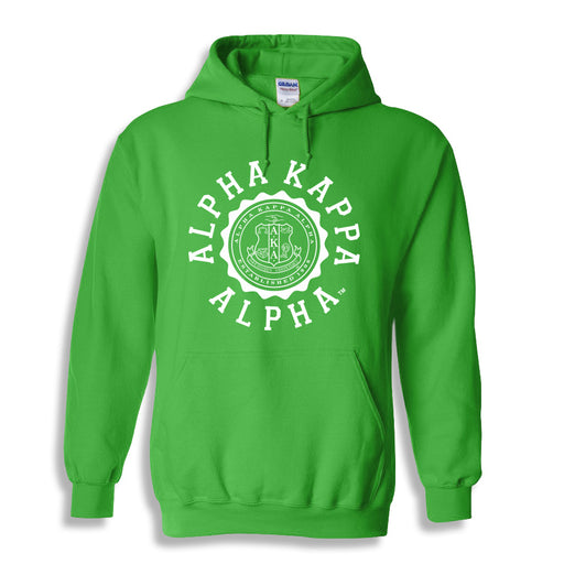 Alpha Kappa Alpha World Famous Seal Crest Hoodie