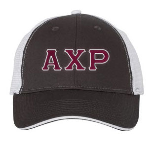 Alpha Chi Rho Greek Trucker Cap